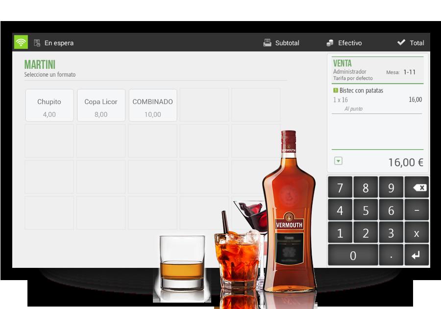 Software tpv para restaurantes Hiopos
